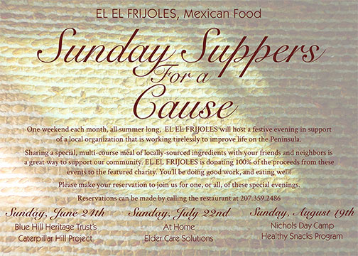 Sunday Suppers Card